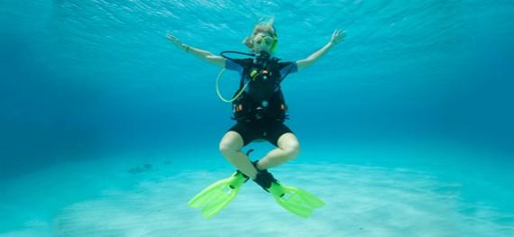 Conseguir flotabilidad neutra en el buceo