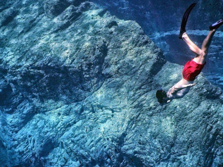 Equipo básico para iniciarse en el buceo libre o apnea